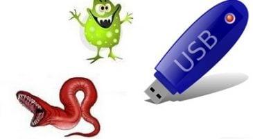 flash bellek virüsden koruma