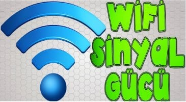 Wifi Sinyalinin Gücünü Arttırın