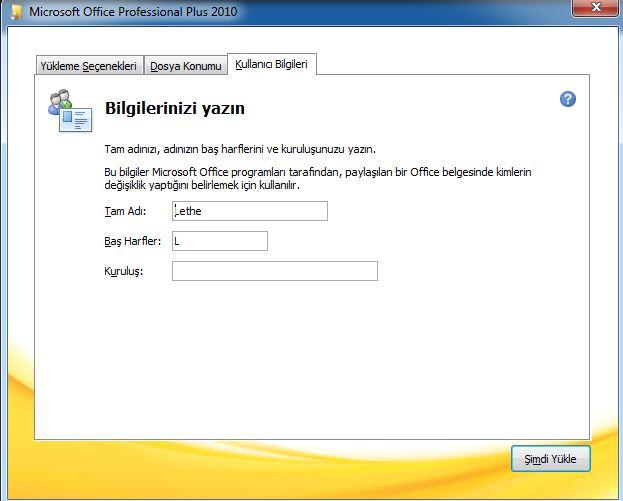 Office 2010 nasıl yüklenir