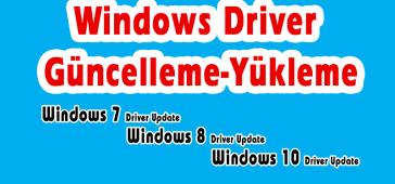 Windows 10 Driver Kurma