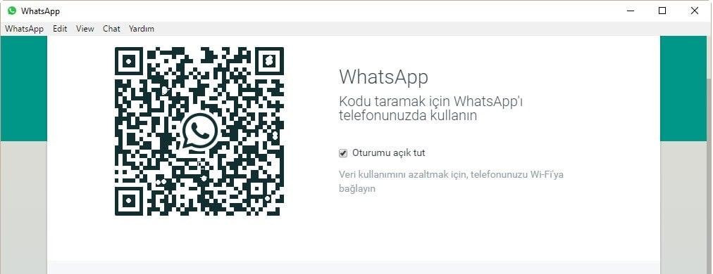 Whatsapp Web QR Kodu Taramıyor