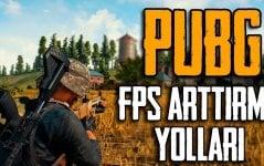 Pubg Mobile FPS Arttırma