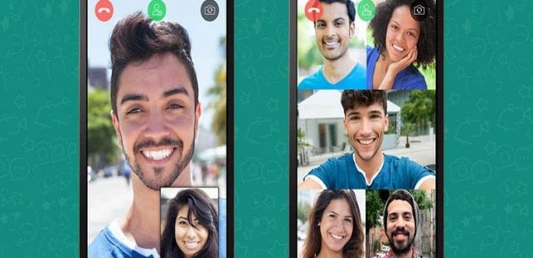 WhatsApp Grup Görüntülü Konuşma