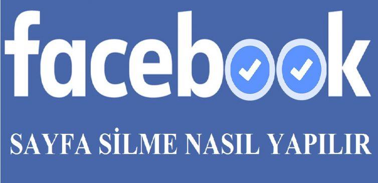Facebook Sayfa Silme