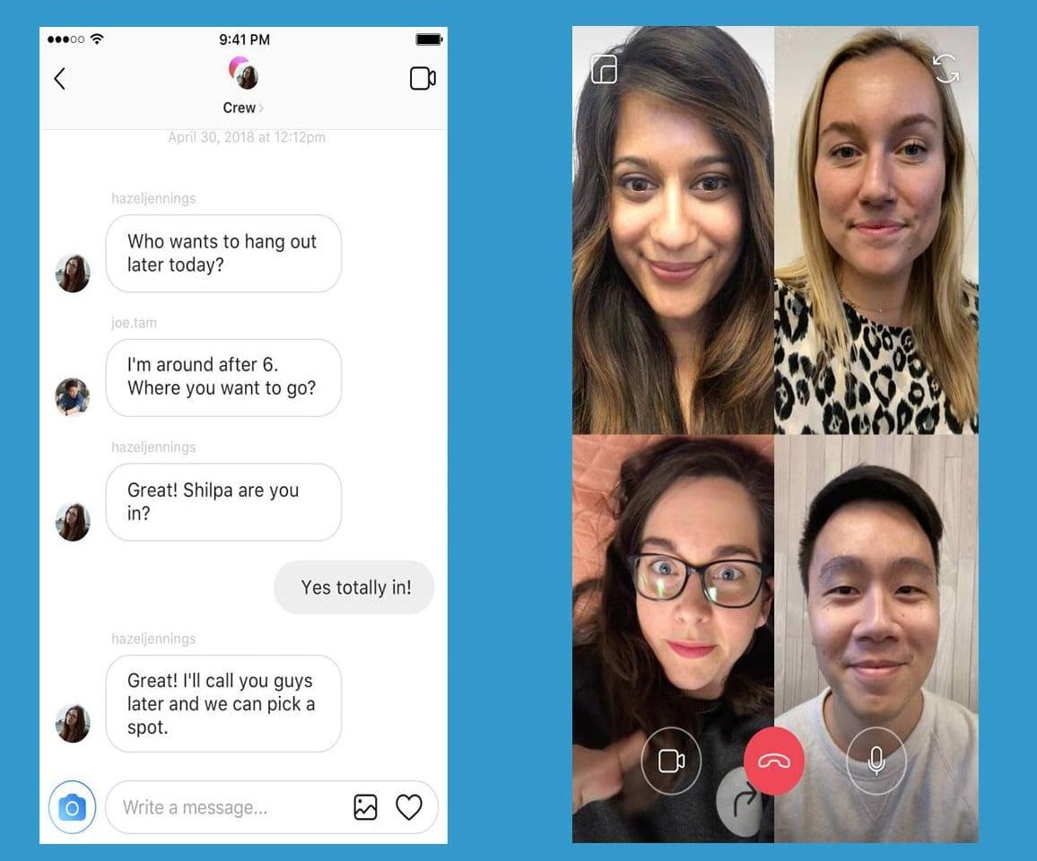 Instagram Grup Görüntülü Konuşma