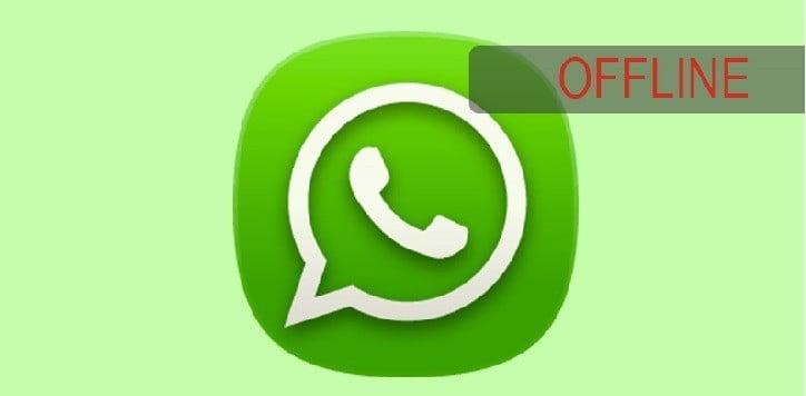 İnternet Açıkken WhatsApp Çevrimdışı Modu Yapma WhatsApp çevrim içikapatma