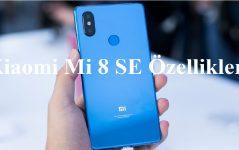 Xiaomi Mi 8 SE Özellikleri