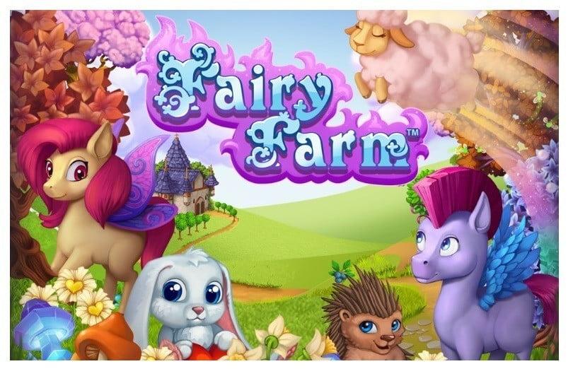 İnternetsiz Çiftlik Oyunları Fairy Farm