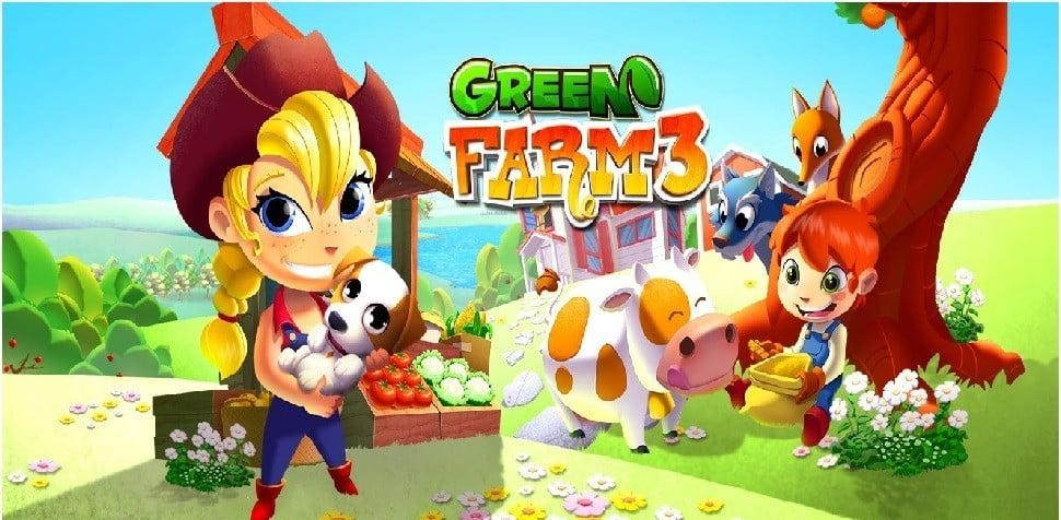 İnternetsiz Çiftlik Oyunları Green Farm 3