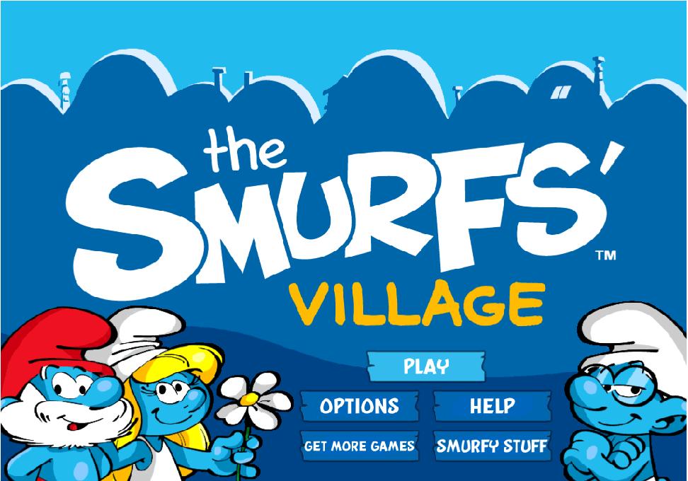 İnternetsiz Çiftlik Oyunları The Smurfs Village