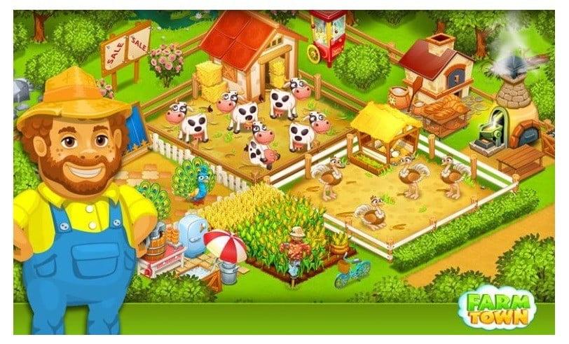 internetsiz çiftlik oyunları farm town