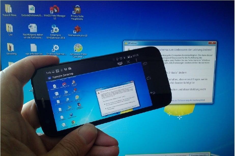 Photo of Cep Telefonu ile Uzaktan Bilgisayar Nasıl Kontrol Edilir