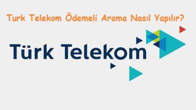 Turk Telekom Ödemeli Arama Nasıl Yapılır