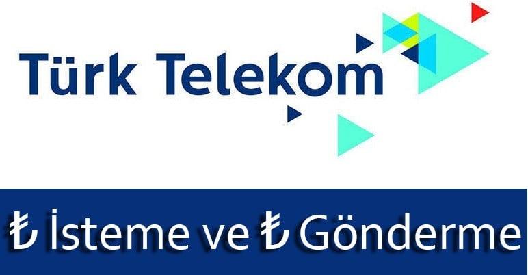 Türk Telekom TL Gönderme