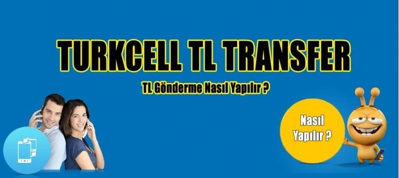 Turkcell TL Gönderme