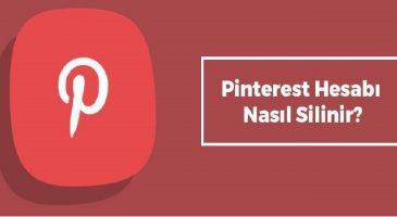 Pinterest Hesap Silme
