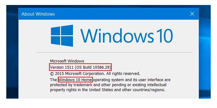 Windows 10 Sürüm Numarası Nasıl Öğrenilir 3