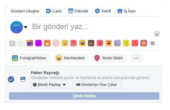 Facebook Sayfalarda Planlanmış Gönderi Oluşturma Nasıl Yapılır?