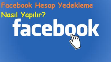 Facebook Hesap Yedekleme Nasıl Yapılır