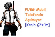 PUBG Mobil Oyunu Telefonda Açılmıyor [Kesin Çözüm]PUBG Mobil Oyunu Telefonda Açılmıyor [Kesin Çözüm]