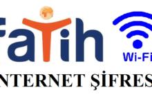 fatih internet şifresi