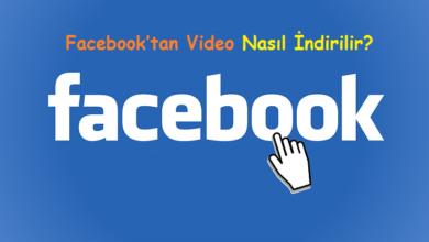 Facebook'tan Video Nasıl İndirilir