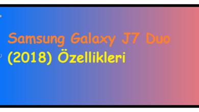 Samsung Galaxy J7 Duo (2018) Özellikleri