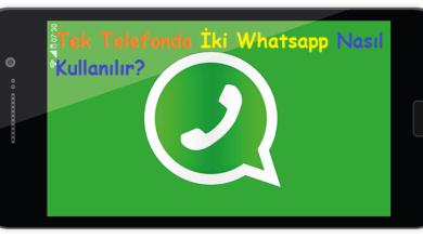 Tek Telefonda İki Whatsapp Nasıl Kullanılır