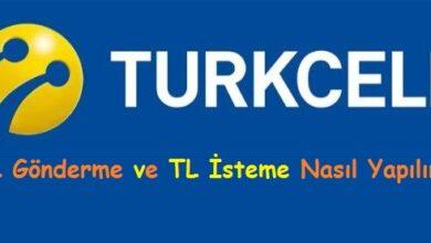 Turkcell TL Gönderme ve TL İsteme Nasıl Yapılır