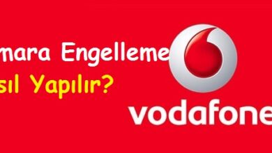Vodafone Numara Engelleme Nasıl Yapılır