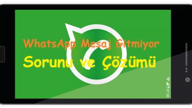 WhatsApp Mesaj Gitmiyor Sorunu ve Çözümü