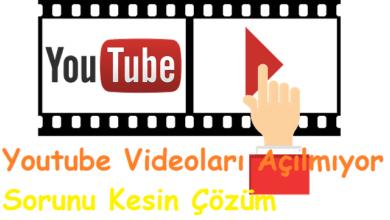 Youtube Videoları Açılmıyor Sorunu Kesin Çözüm