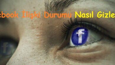 Facebook İlişki Durumu Nasıl Gizlenir