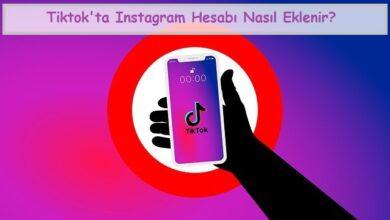 Tiktok'ta Instagram Hesabı Nasıl Eklenir
