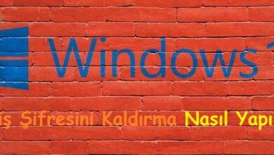 Windows 10 Giriş Şifresini Kaldırma Nasıl Yapılır