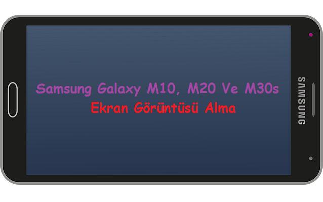 samsung galaxy ekran görüntüsü