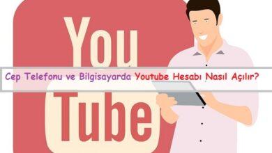 youtube hesabı nasıl açılır