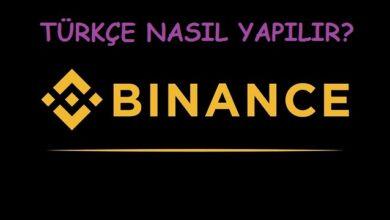 binance türkçe nasıl yapılır