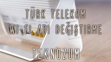 Türk Telekom Wi-Fi Adı Değiştirme