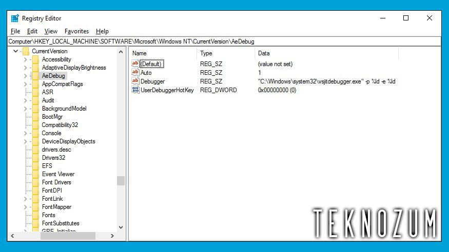 Windows 10 Kayıt Defteri Temizleme İşlemi