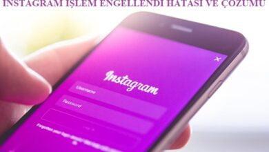 instagram işlem engellendi