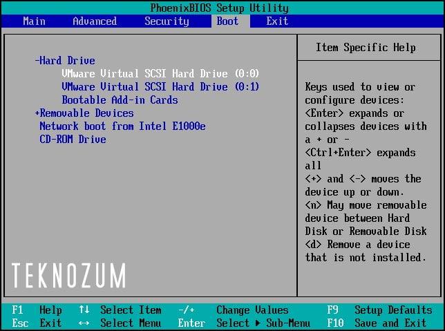 BOOTMGR Hatası - Önyükleme Sırasında Oluşan Yazılımsal Hatalar