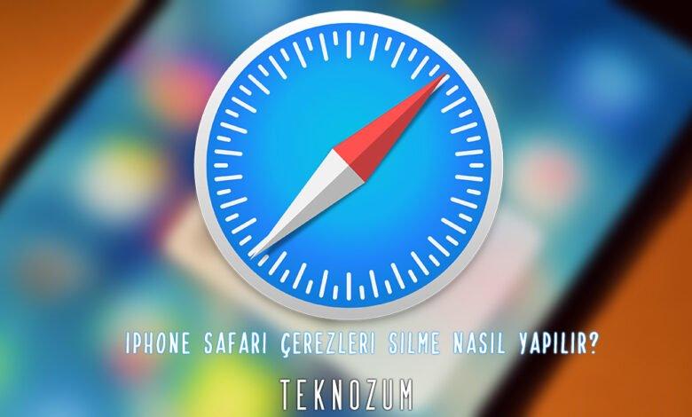 iPhone Safari Çerezleri Silme Nasıl Yapılır?