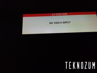No Video İnput Hatası Nedir?
