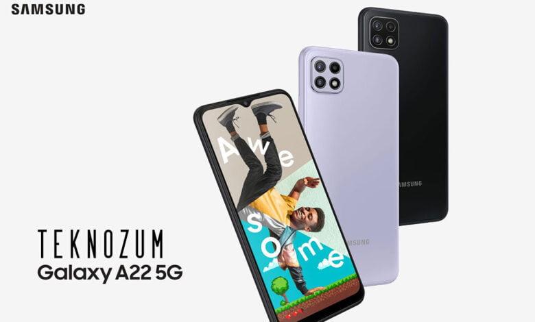 Samsung Galaxy A22 5G Teknik Özellikleri ve Fiyatı
