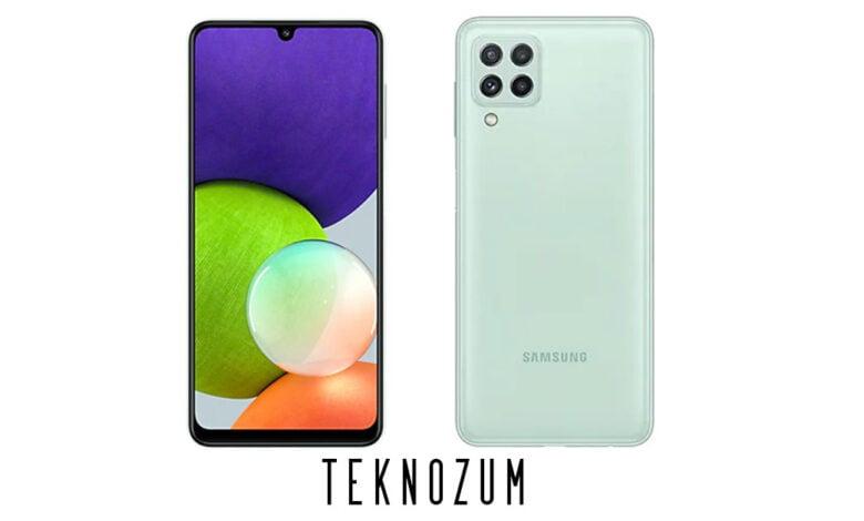 Samsung Galaxy A22 Teknik Özellikleri ve Fiyatı