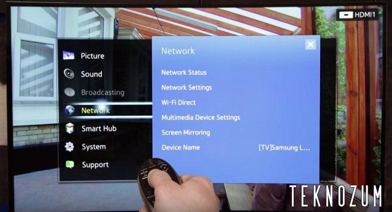 Samsung Smart TV Wi-Fi Sorunu