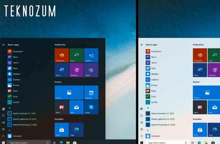 Windows 10 Başlat Menüsü Açılmıyor