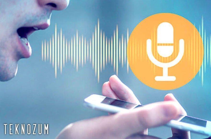 Android için Konuşarak Mesaj Yazma