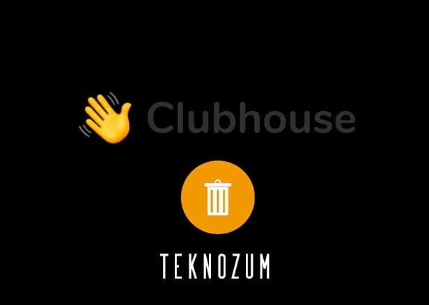 Clubhouse Hesap Silme – İnternet Üzerinden